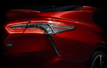 Toyota Teases All-New 2018 Camry