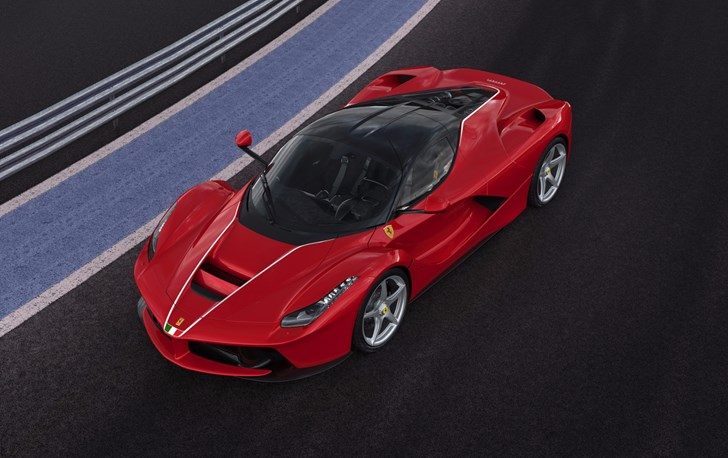 500th LaFerrari Fetches $7M For Earthquake Relief