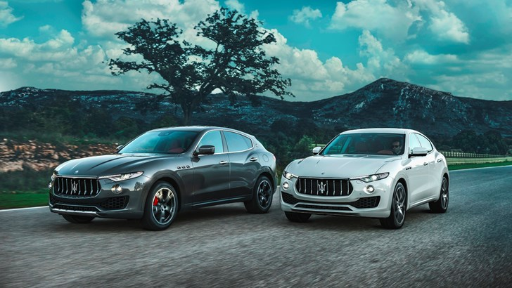 Maserati Still Sits On Fiery V8-Powered Levante