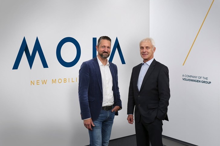 Moia, VW's New Mobility-On-Demand Brand