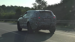 Range Rover Sport Coupe Spotted Testing