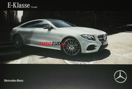 2017 Mercedes-Benz E-Class Coupe Leaked In Brochure