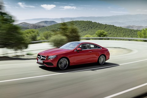 2017 Mercedes-Benz E-Class Coupe Unveiled