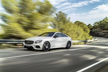 2017 Mercedes-Benz E-Class Coupe Unveiled