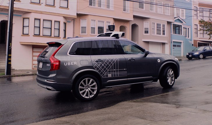 2016 Volvo XC90 - Uber Autonomous San Francisco