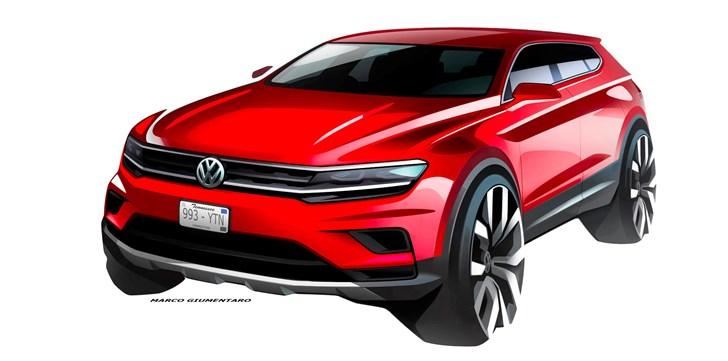 Volkswagen Teases Tiguan Allspace