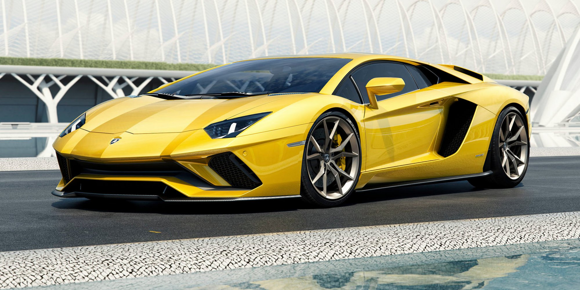 News - Lamborghini Unveils 2017 Aventador S, Oz Prices ...