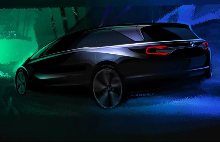 Honda Teases All-New Odyssey For Detroit Debut