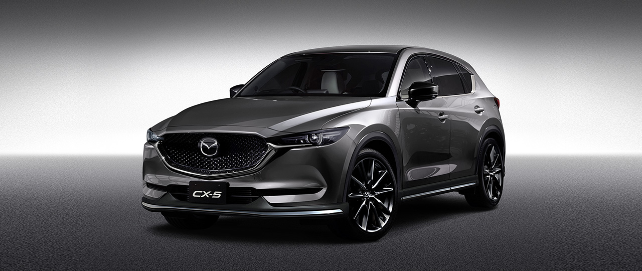 news all new mazda cx 5 cx 3 given custom style treatment. Black Bedroom Furniture Sets. Home Design Ideas