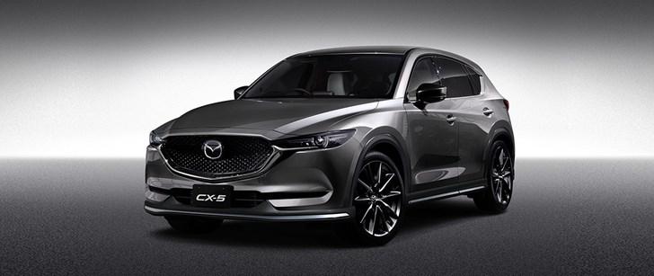 2017 Mazda CX-5, CX-3 Custom Style