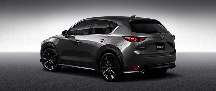 news - all-new mazda cx-5, cx-3 given 'custom style' treatment