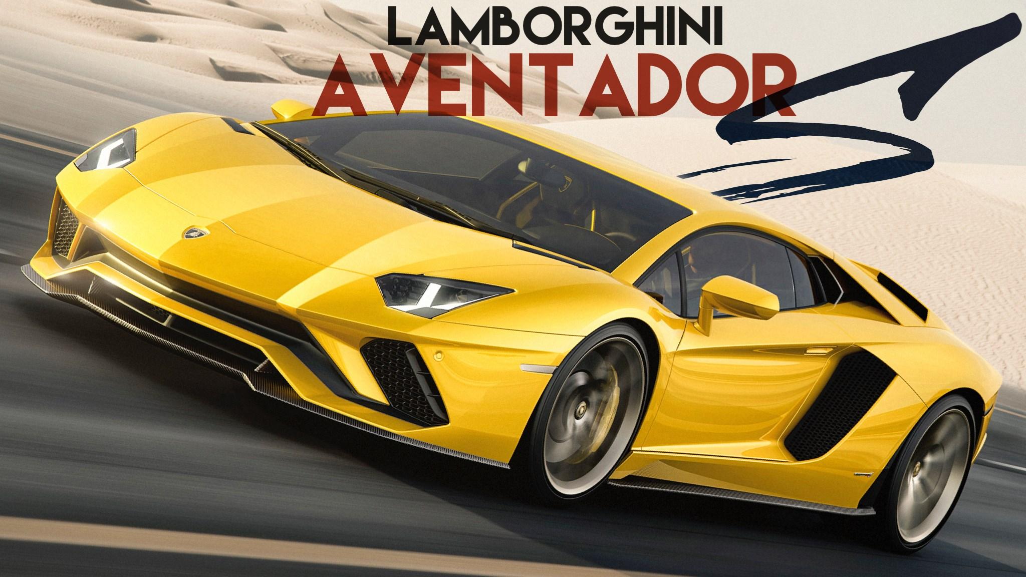 Lamborghini Unveils 2017 Aventador S
