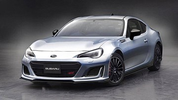 Subaru Previews Warmer BRZ STI Sport