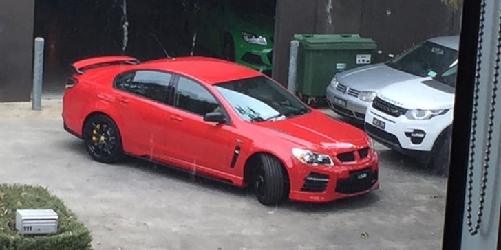 2017 HSV Saloon & Ute Snapped In The Wild (Factory Carpark)