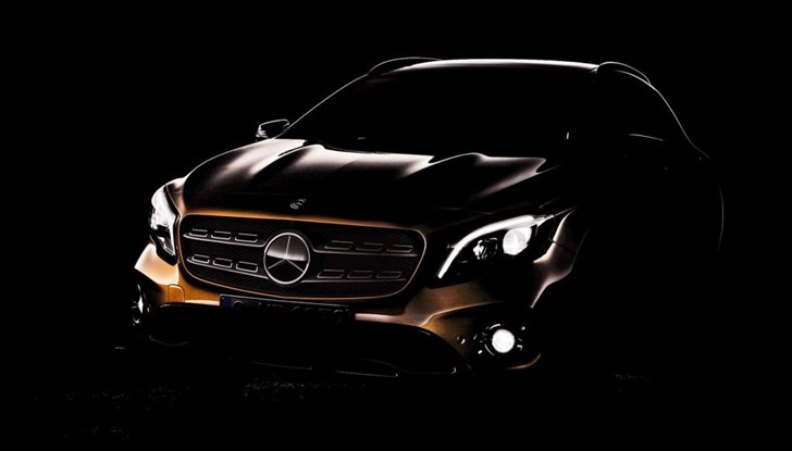 Mercedes-Benz's Updated GLA Teased For Detroit Unveil
