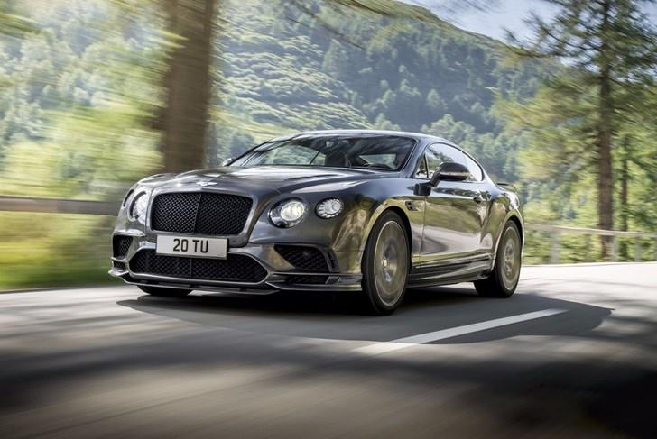 2017 Bentley Continental Supersport