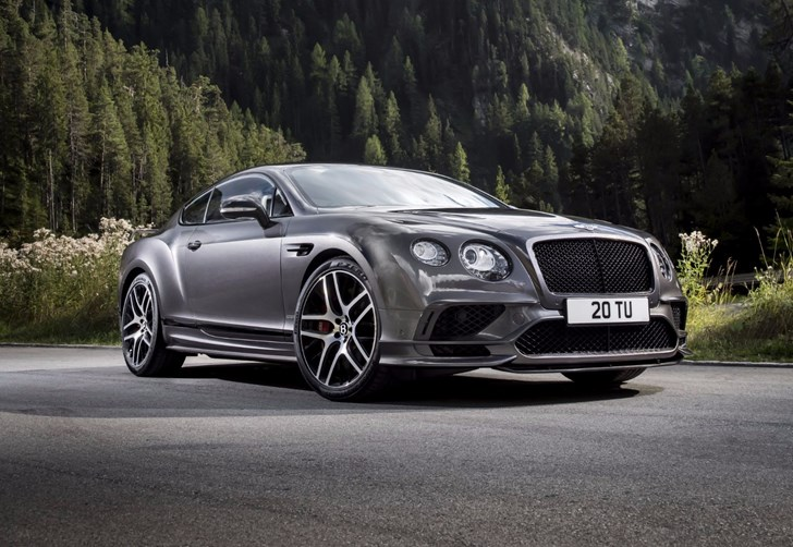 2017 Bentley Continental Supersport