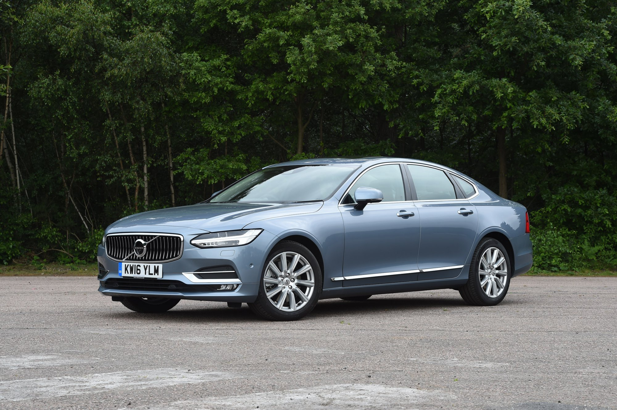 אולטרה מידי Review - 2017 Volvo S90 - Review QV-79