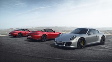 Porsche Outs Newer, Faster 911 GTS Models