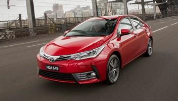 Toyota Corolla Sedan Updated For 2017