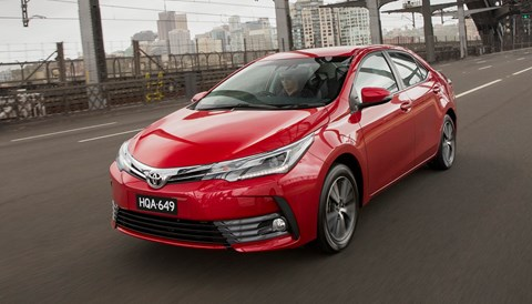 Toyota Corolla Sedan Updated For 2017