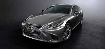 2017 Lexus LS500 Makes Detroit Debut