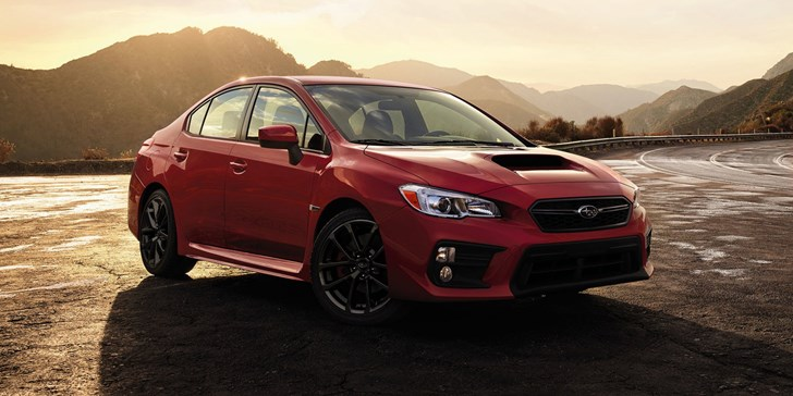 Subaru Updates WRX and STI for 2017