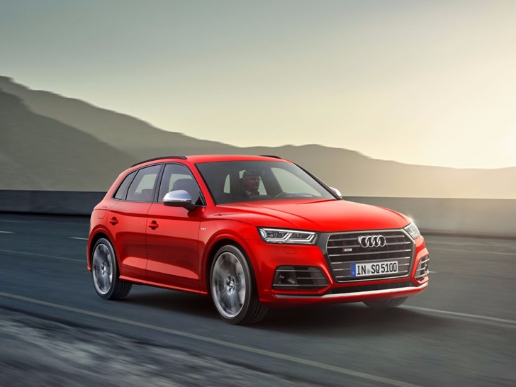 Audi Unveils 260kW SQ5 In Detroit
