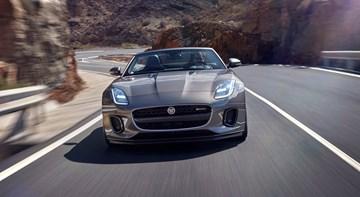 2017 Jaguar F-Type Debuts: Sharper, Sleeker, Smarter