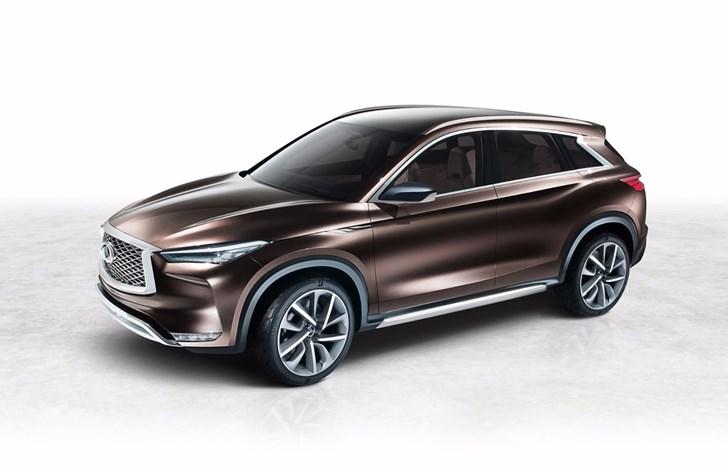 2017 Infiniti QX50 Concept - Detroit Motor Show