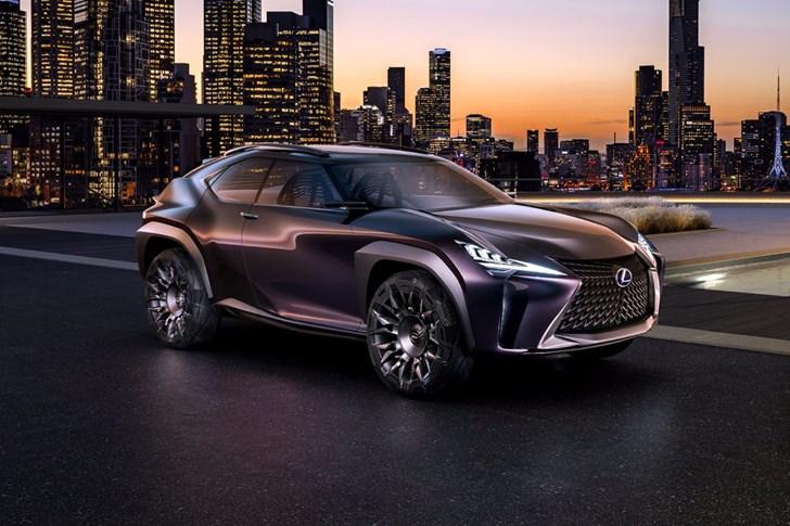 2016 Lexus UX Concept - Paris Motor Show