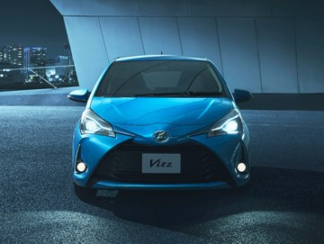 2017 Toyota Yaris Facelift Breaks Cover As Vitz Hatch
