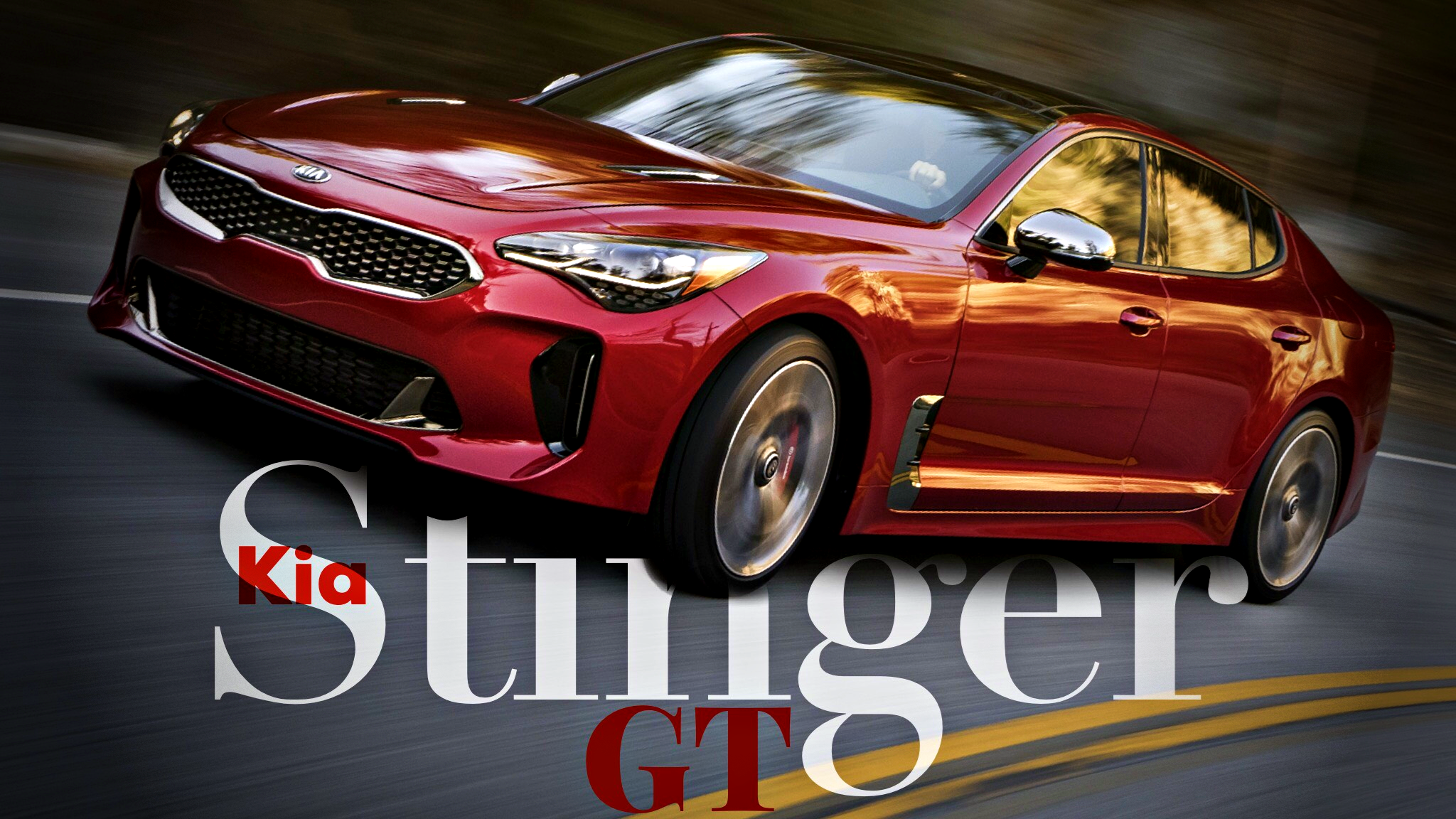 Kia Unveils Stinger GT, 272kW AWD Performance Coupe