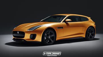Jaguar F-Type Shooting Brake - X-Tomi