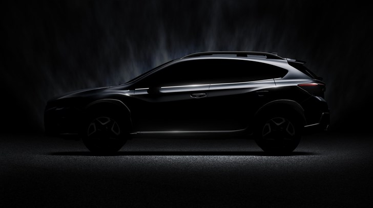 2017 Subaru XV Shows Some Skin