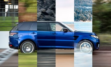 Range Rover Sport SVR: Performance, Anywhere