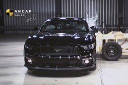 2-Stars For Ford Mustang: ANCAP