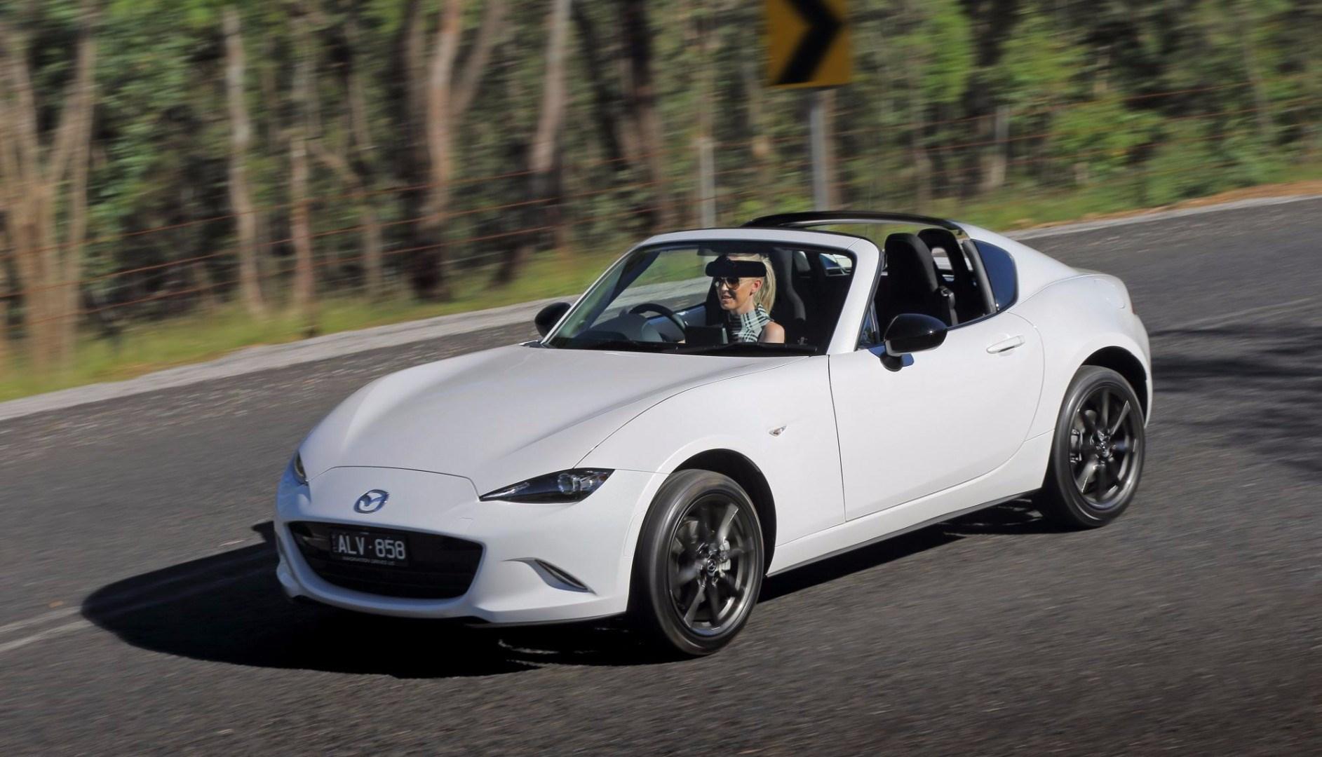 Mazda's MX-5 RF Hits Australian Showrooms Thumbnail