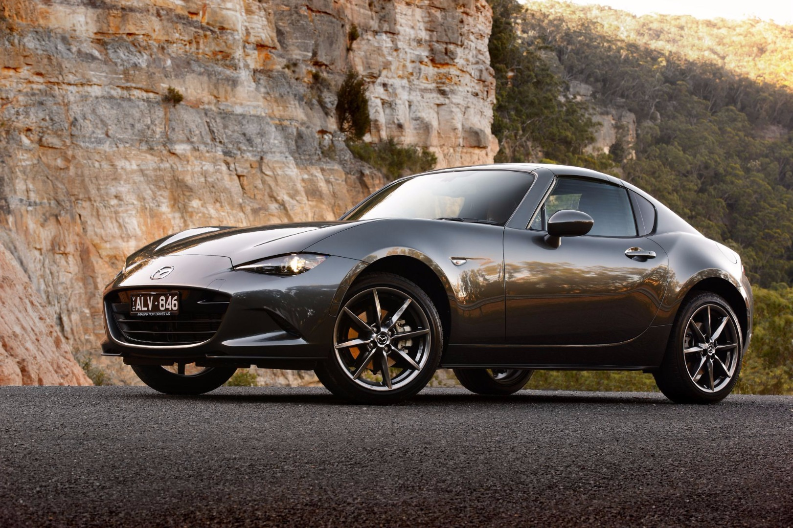 News Mazda S Mx 5 Rf Hits Australian Showrooms