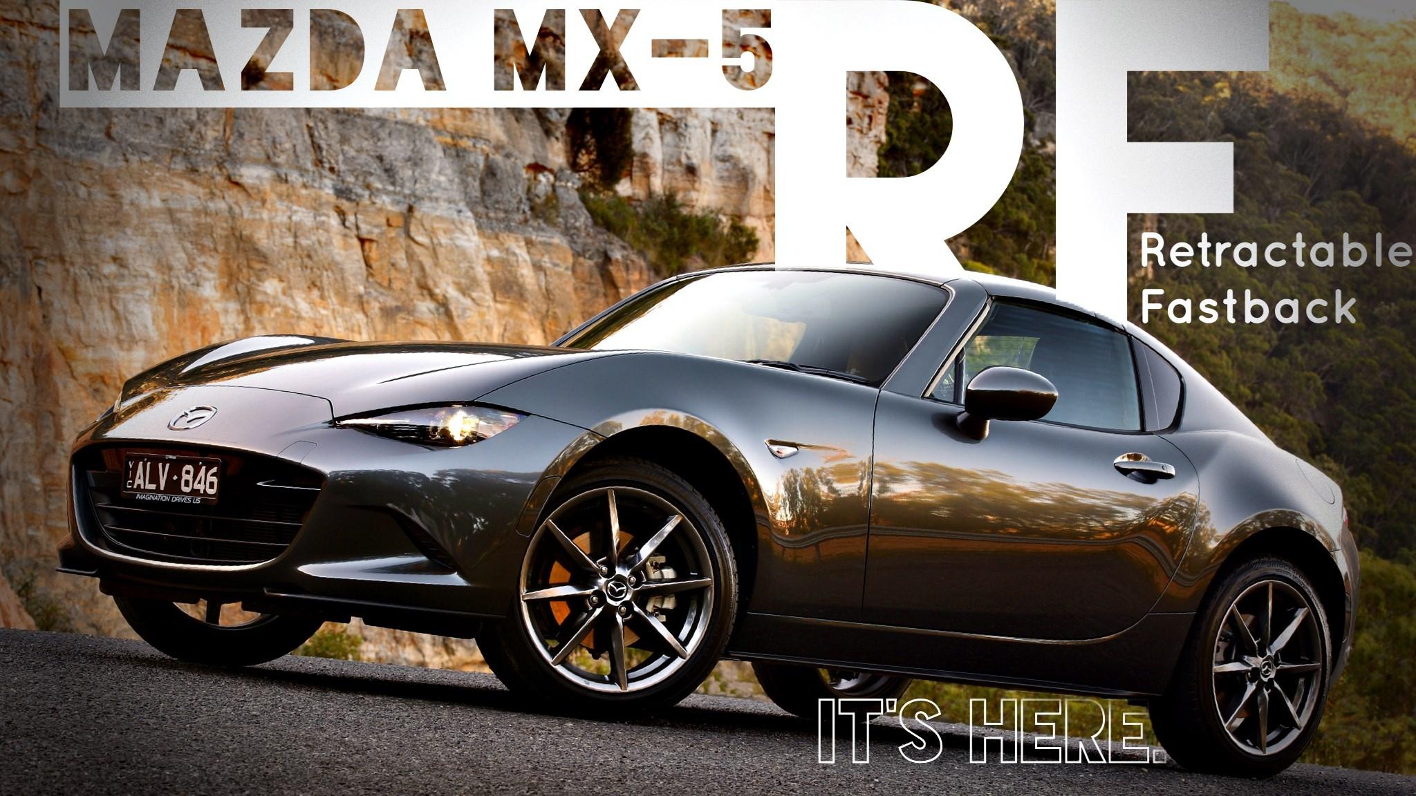 Mazda's MX-5 RF Hits Australian Showrooms