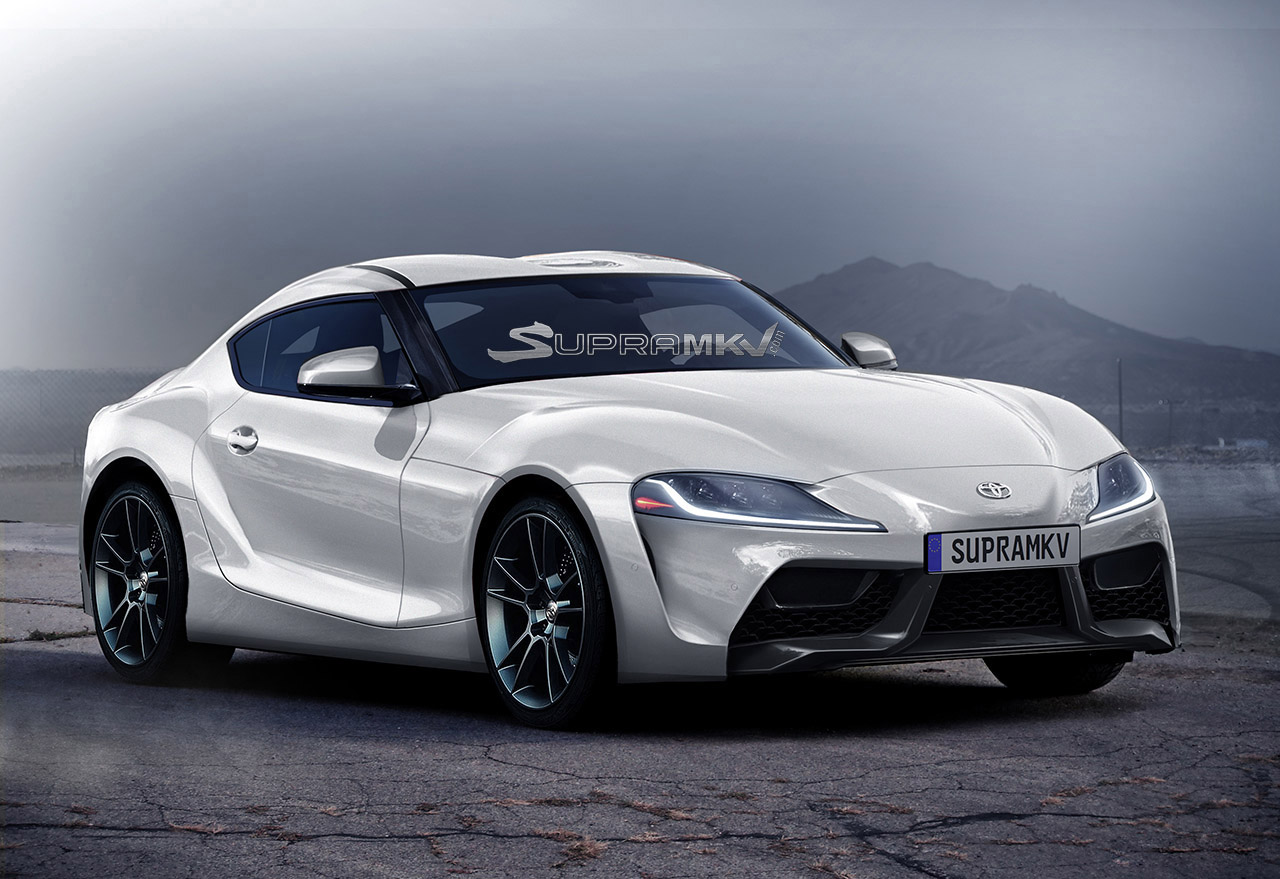 News Best Guess Renders Emerge Of 2018 Toyota Supra