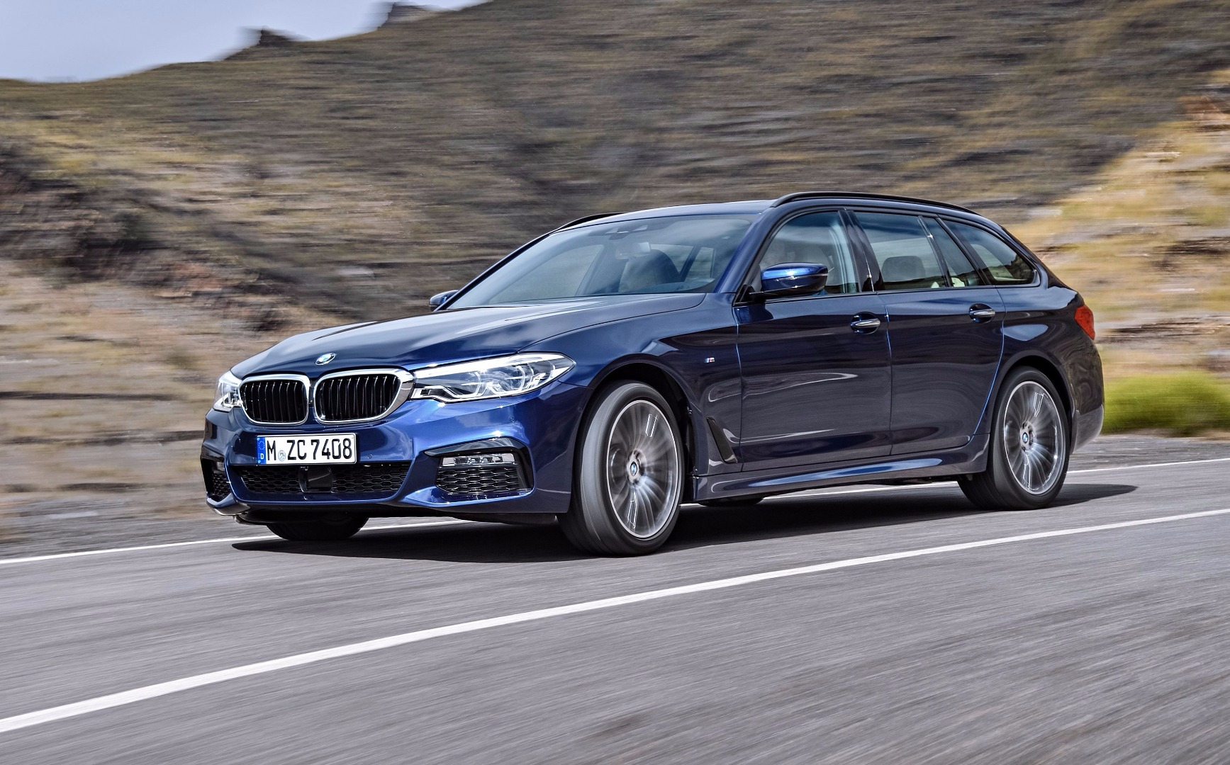 BMW Previews All-New 2017 5 Series Touring