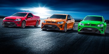 HSV Reveals Its Commodore Farewell Range