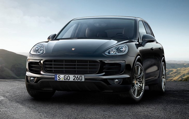 Porsche Adds 2017 Cayenne S & S Diesel Platinum Editions