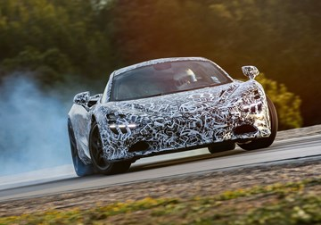 McLaren's Next Supercar Uses Big Data For Mega Handling