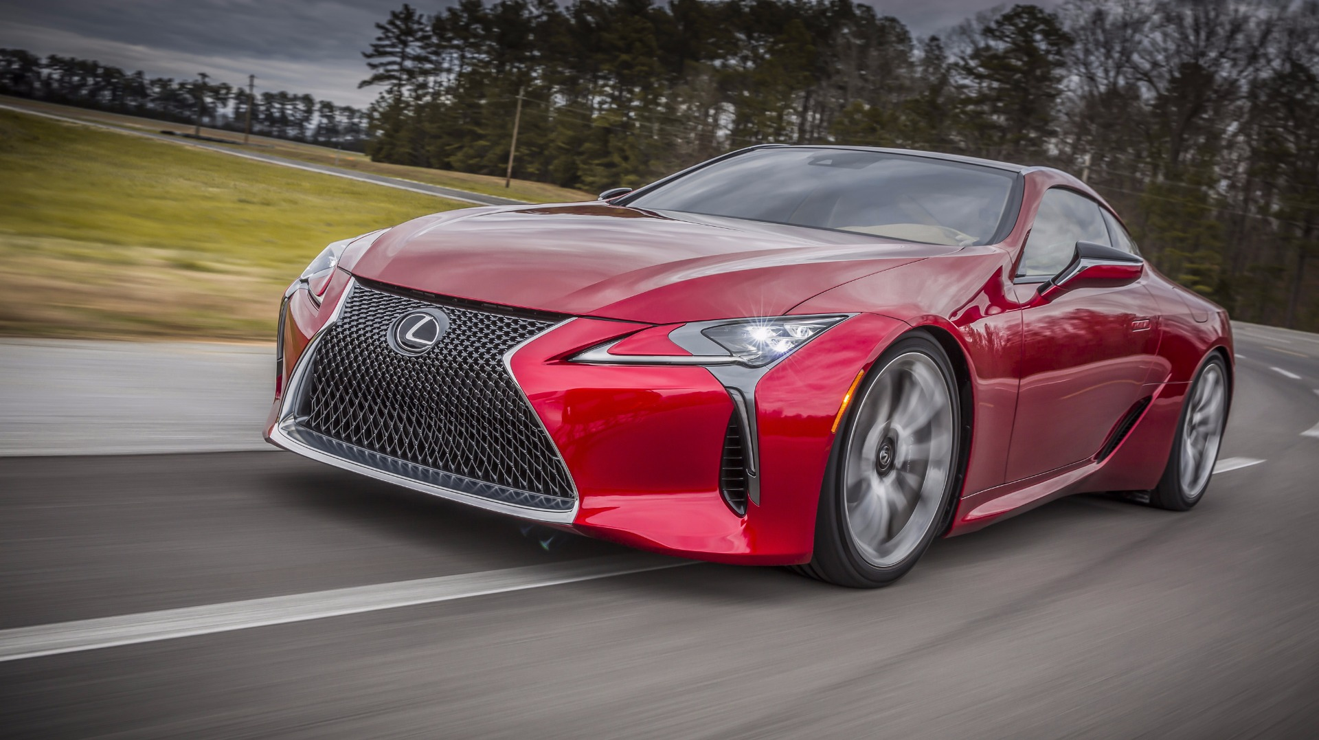 News Supercar Baiting Lexus LC F Earmarked For 2018 Debut