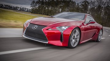 Supercar-Baiting Lexus LC F Earmarked For 2018 Debut