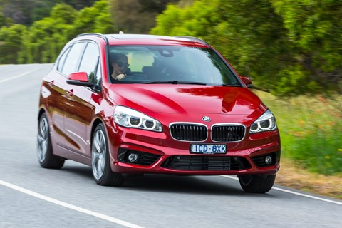 2017 BMW 218d Active Tourer Sport Line