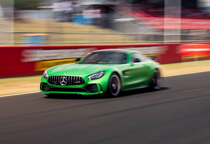 Mercedes-AMG GT R Blasts To New Mount Panorama Lap Record
