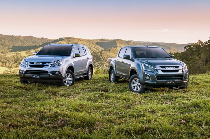 Isuzu Updates D-Max, MU-X With Improved Engines, Equipment